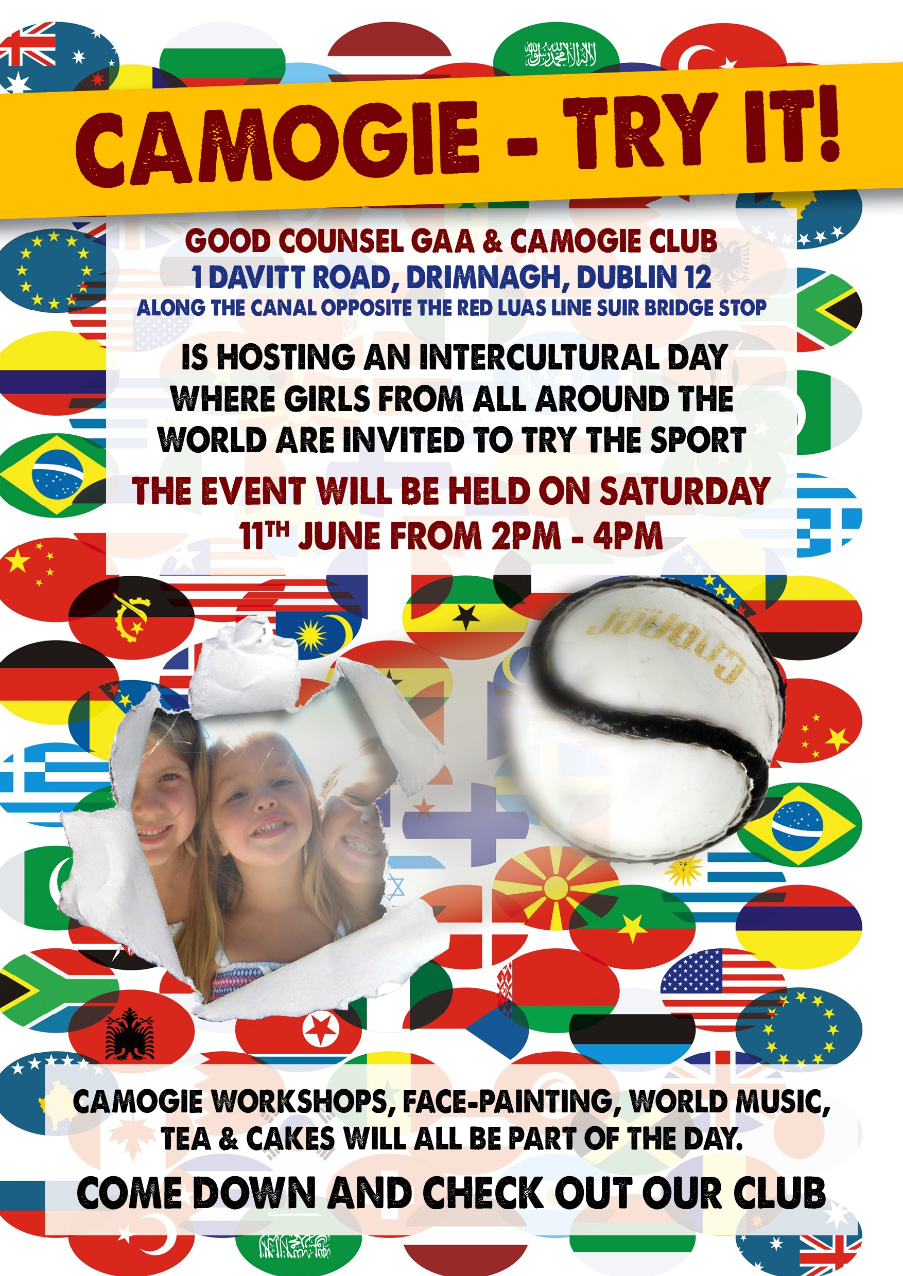 Camogie Intercultural Day